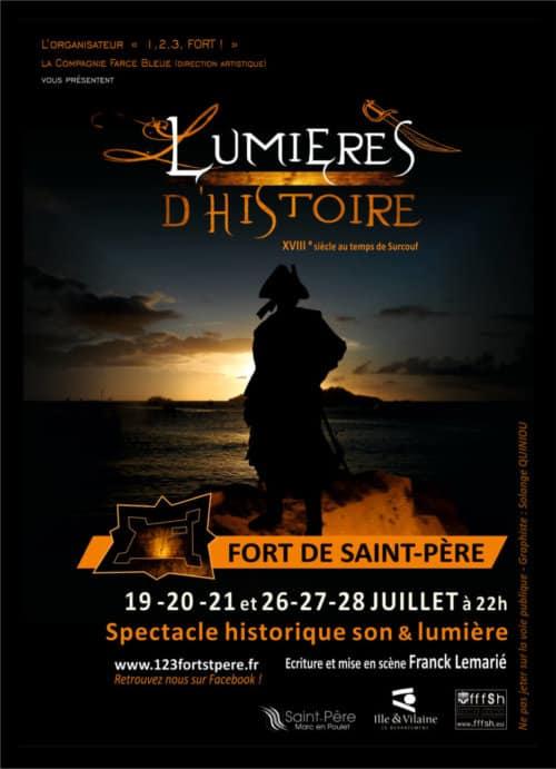 Lumières d'Histoire à Saint-Malo