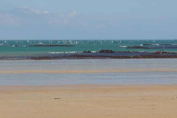 les grandes marées à Saint-Malo