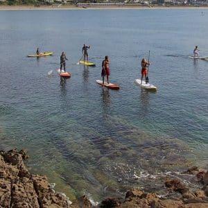 Stand-up paddle à Saint-Malo