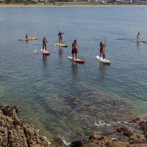 Stand-up paddle à Saint-Malo