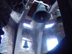 campanile dall'interno