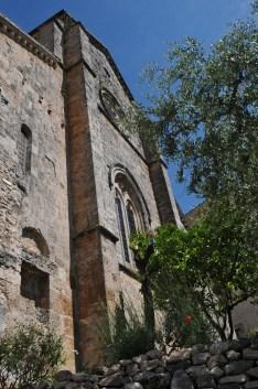 Ferentino: la zona absidale di Santa Maria Maggiore. Foto Daniele Baldassarre con Nikon D300 + Sigma 17/35 mm D; ore 10,59 dell'8 giugno 2009.