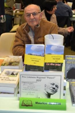 """Prix Panazô 2017 : Maurice Martin pour """"Le rêve brisé"""""""
