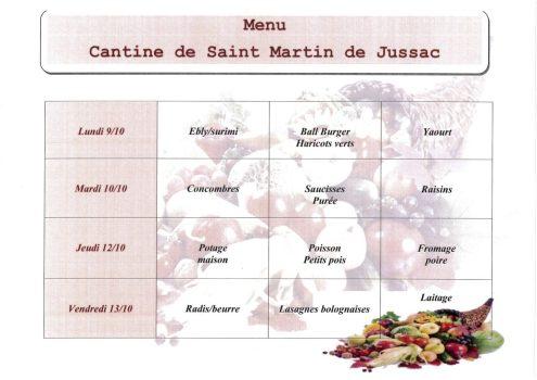 menu S41