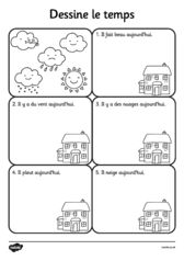 thumbnail of Activity 2 Draw-the-Weather-Worksheet-French