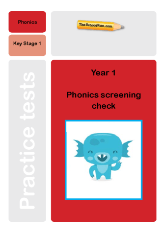 Phonics screening mock test 8