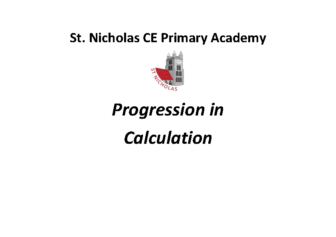 Progression in Calculation
