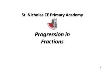Progression in Fractions