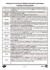 thumbnail of SPaG Glossary
