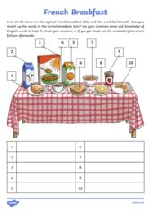 thumbnail of French-Breakfast-Label-and-Learn