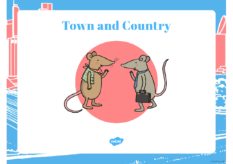 Topic – town and country