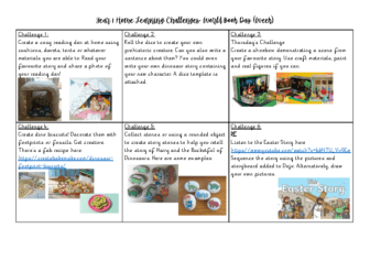Year 1 Home Learning Challenges Week 2