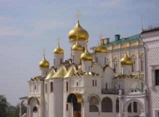 Kreml Kathedrale in Moskau.