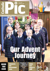 Cover of Catholic Pic December 2020 edition