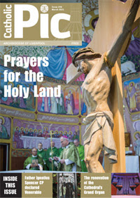 Cover of Catholic Pic March 2021 edition