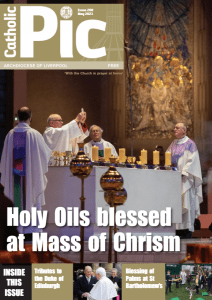 Cover of May 2021 issue of the Catholic Pic