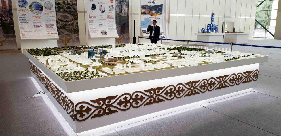 3Д-печать макета Астана