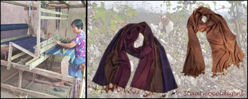 handgeweven sjaals