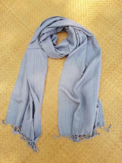 grijze zachte sjaal
