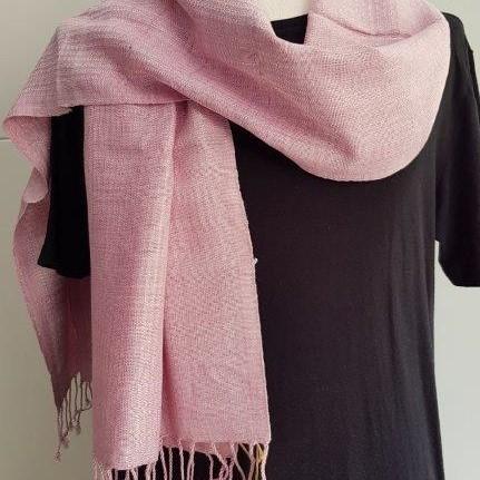 delicaatroze sjaal