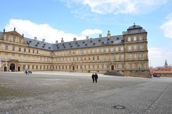 Neue Residenz & Rosengarten
