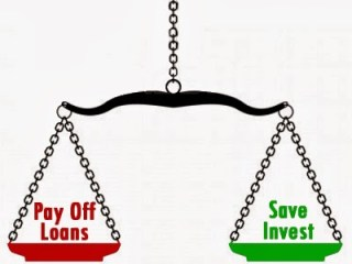 Pay Off Loan Or Invest & Save