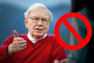 you are not warren buffett