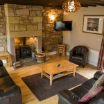 Self-catering cottage in Northumberland, Bullfinch cottage living room