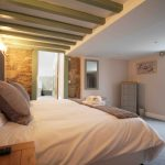 Self-catering cottage in Northumberland, Old Mill cottage ground floor double bedroom
