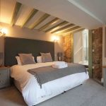 Self-catering cottage in Northumberland, Old Mill cottage ground floor bedroom