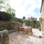 Self-catering cottage in Northumberland, Old Mill cottage patio