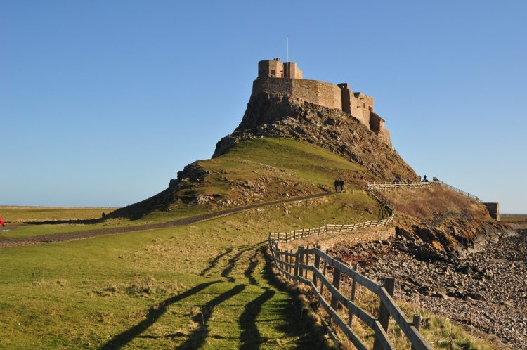 Lindisfarne (Holy island) - The castle, Northumberland Stablewood Coastal Cottages