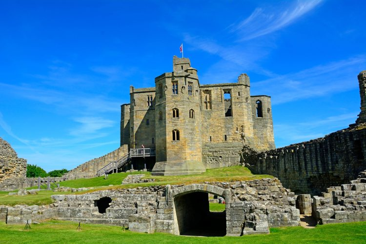 Warkworth Castle, Northumberland, Stablewood Coastal Cottages