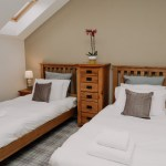 Stablewood Coastal Cottages Goosander Twin Bedroom Northumberland Cottages