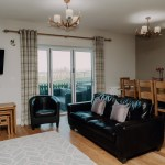 Stablewood Coastal Cottages Goosander Living/Dining Room Northumberland Cottages