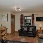 Stablewood Coastal Cottages Plover Living/Dining Room Northumberland Cottages