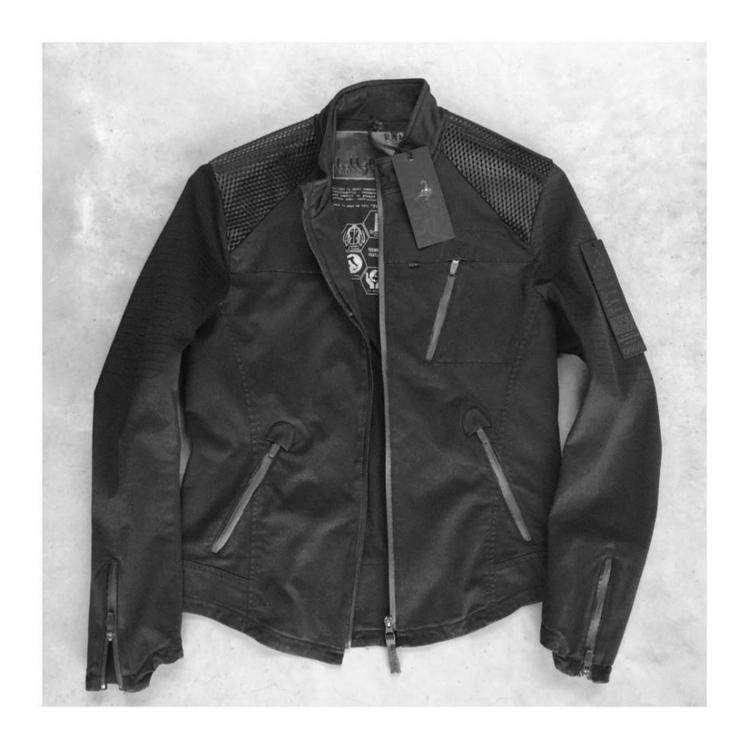 Koll3kt Biker Jacket Black