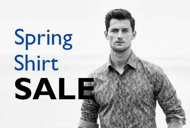 2016 Spring Shirt Sale Staccato Menswear Vancouver