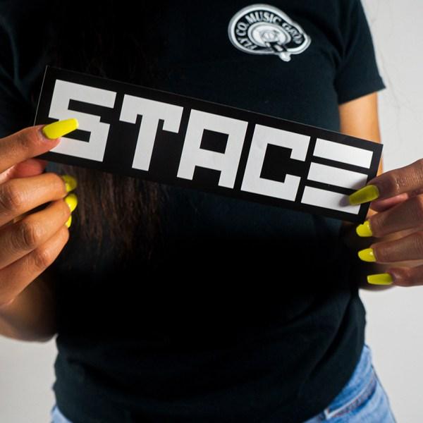 STACE Brand Logo Sticker