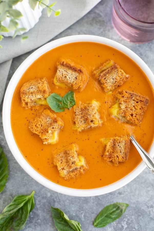 tomato soup bread dip