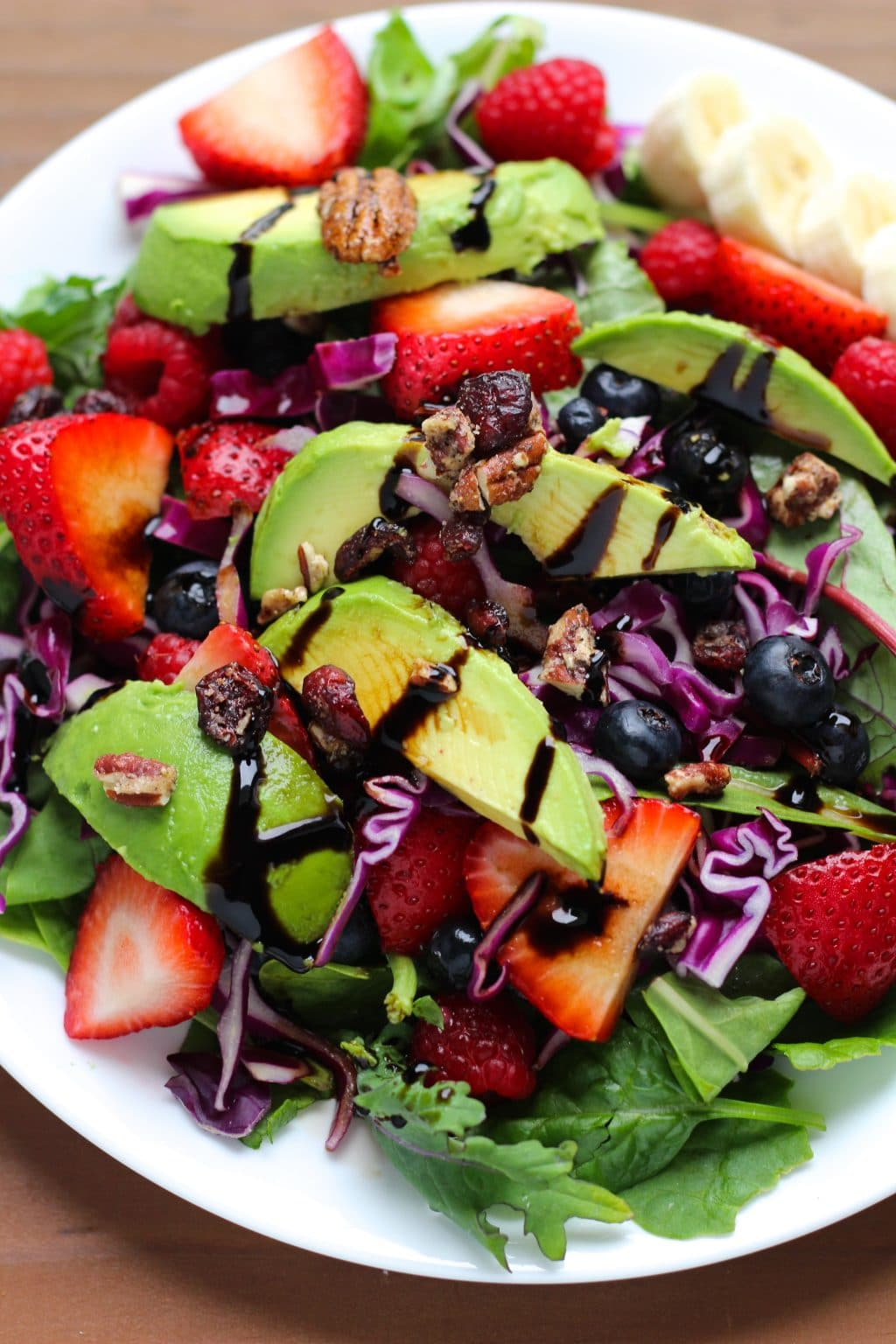Mixed Berry Summer Salad - Stacey Homemaker
