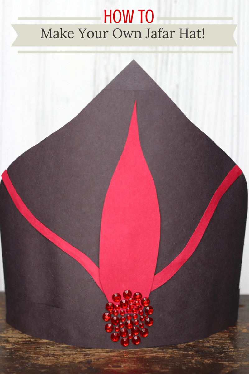 big sale b1d42 72df0 ... cheap learn how to make your own disneys descendants construction paper  jafar hat from disneys aladdin