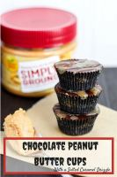 Chocolate peanut butter cups that are ready in 15 minutes!