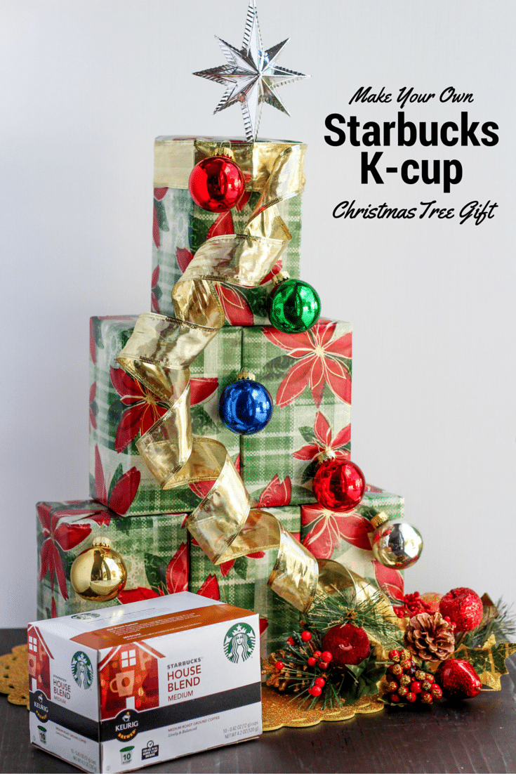 starbucks k cup tree