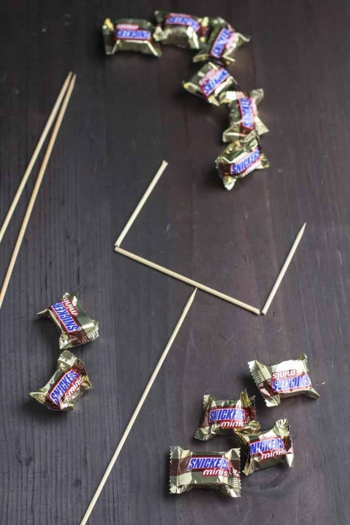 snack stadium tutorial snickers