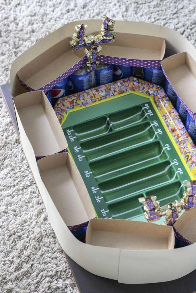 snack stadium tutorial with containers