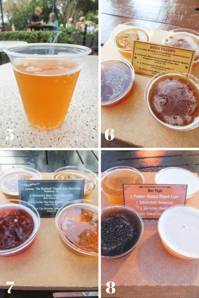 Don't waste your money, check this list of the best alcoholic drinks at the Epcot Flower and Garden Festival before you go!