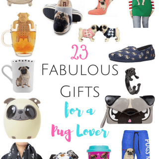 I'm a huge pug lover and I would LOVE to get any one of these special pug-themed gifts for Christmas!