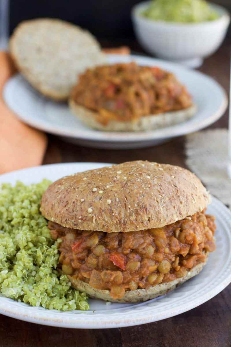 (Secret Ingredient) Vegan Lentil Sloppy Joes