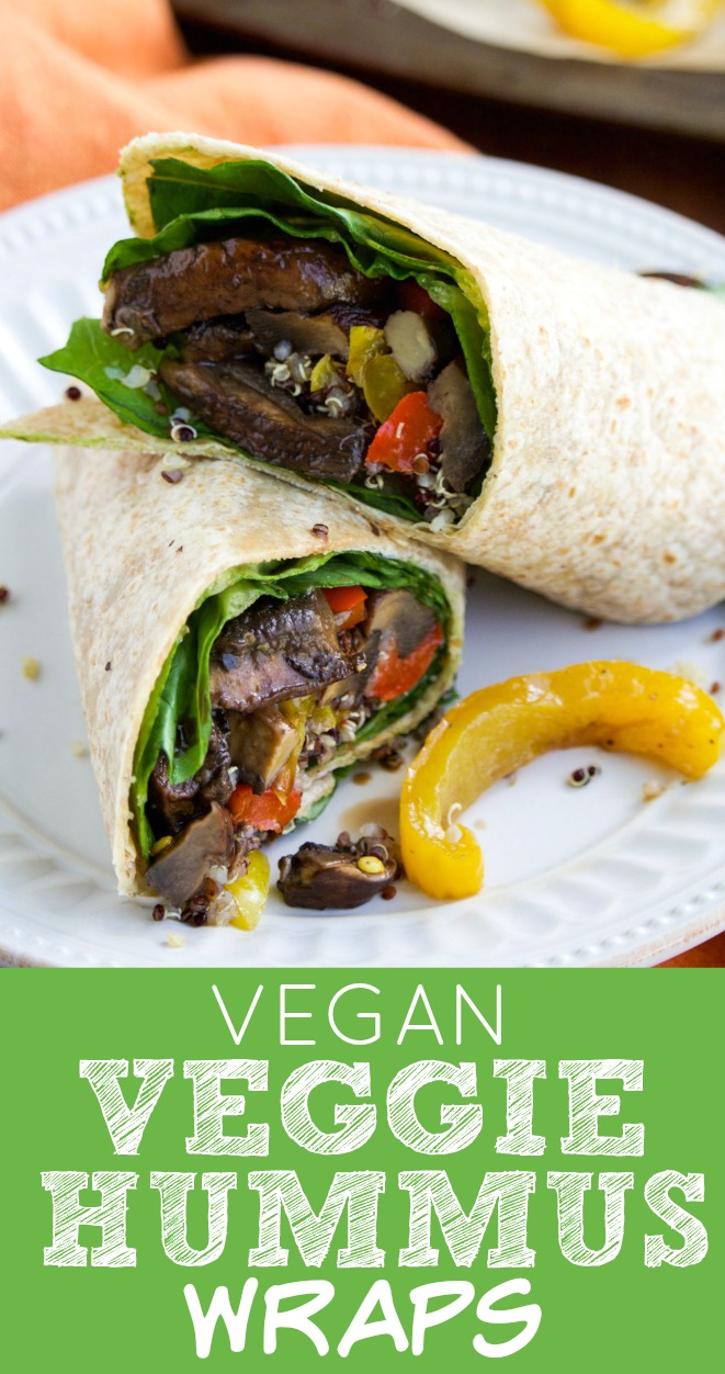 Vegan Veggie Wraps